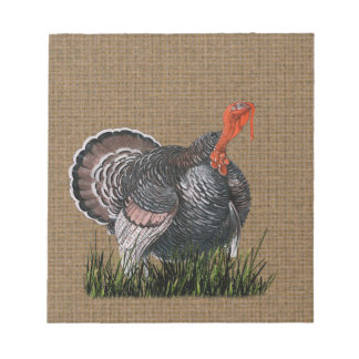 Thanksgiving Turkey Notepad