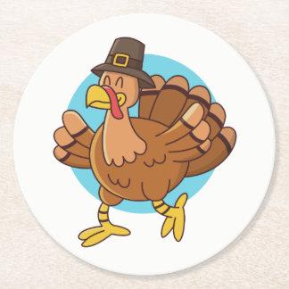 Thanksgiving Turkey paper coasters