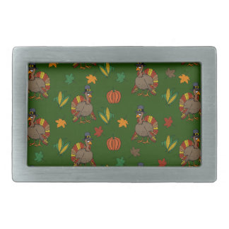 Thanksgiving Turkey pattern Belt Buckle