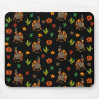 Thanksgiving Turkey pattern Mouse Pad
