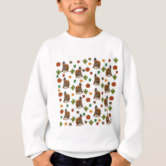 Thanksgiving Turkey pattern Sweatshirt