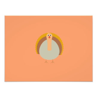 Thanksgiving turkey photo print