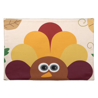 Thanksgiving Turkey Placemat