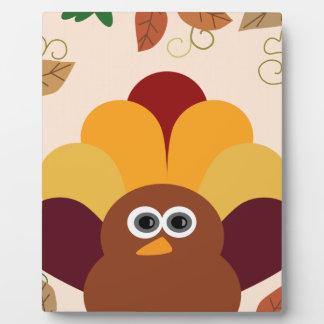 Thanksgiving Turkey Plaque
