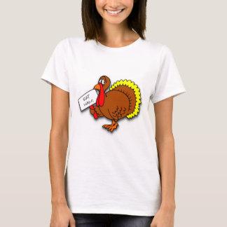 Thanksgiving Turkey Says Eat Ham T-Shirt