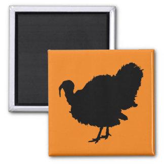 Thanksgiving Turkey Silhouette Magnet