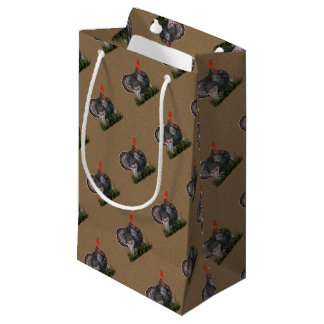Thanksgiving Turkey Small Gift Bag