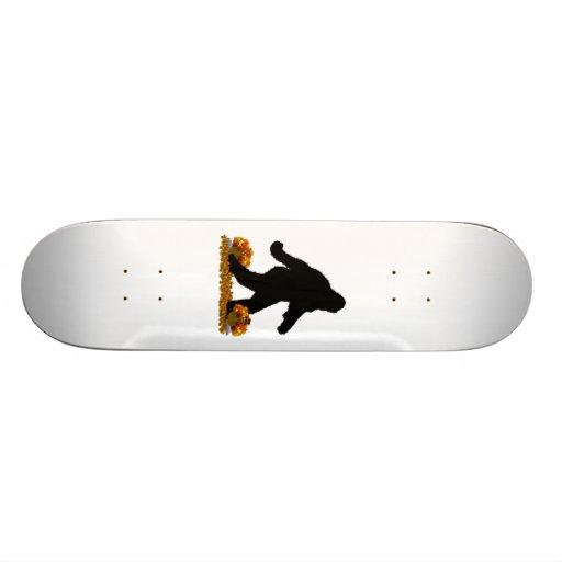 Thanksgiving Turkey Squatchin' Skate Board Deck