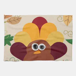 Thanksgiving Turkey Tea Towel