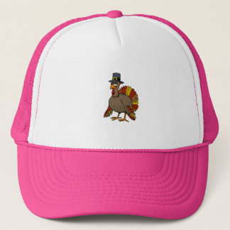 Thanksgiving Turkey Trucker Hat