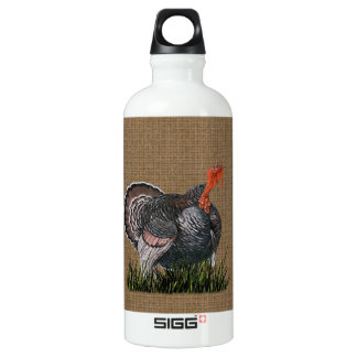 Thanksgiving Turkey Water Bottle