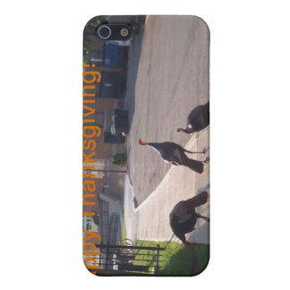 Thanksgiving Turkeys Cover For iPhone 5