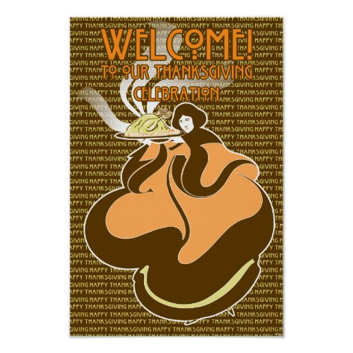 Thanksgiving Welcome Print