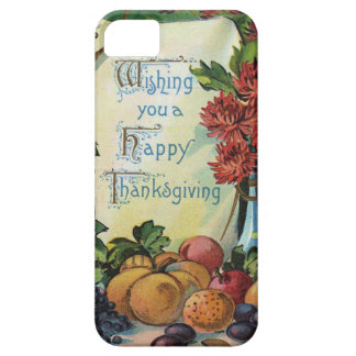 Thanksgiving Wishbone Fruit Vase Flowers iPhone 5 Case