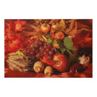 Thanksgiving Wood Prints