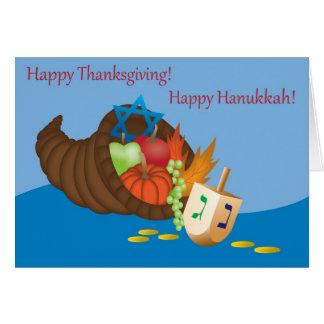 Thanksgivukkah Card (Thanksgiving and Hanukkah) 4