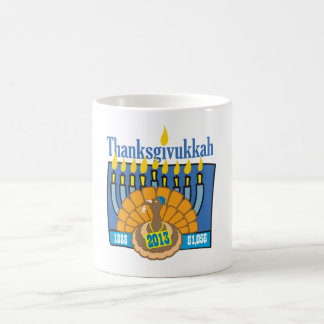 Thanksgivukkah mug