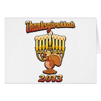 Thanksgivukkah Thanksgiving Chanukah A Funny Gift Card