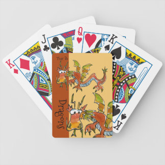 Thar Be Dragons Bicycle Playing Cards