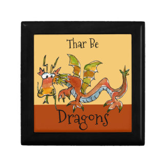 Thar Be Dragons Gift Box