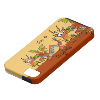 Thar Be Dragons iPhone 5 Cases