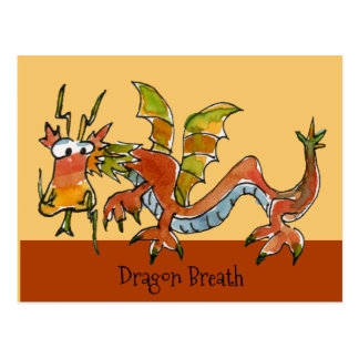 Thar Be Dragons Postcard
