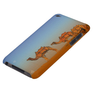 Thar desert, Rajasthan India. Camels along the iPod Touch Cover