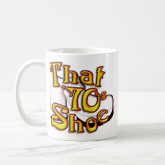 That 70's Shoe Classic White Mug