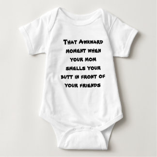 That awkward moment baby bodysuit