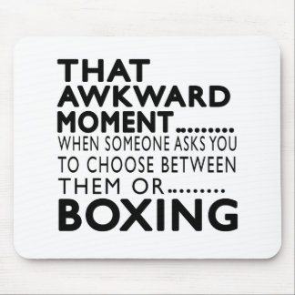 That Awkward Moment Boxing Designs Mouse Pad