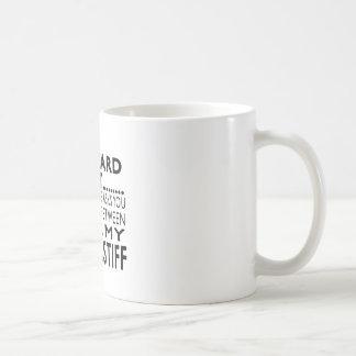That Awkward Moment Bullmastiff Classic White Coffee Mug