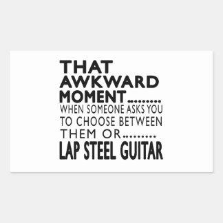 That Awkward Moment Lap Steel Guitar Designs Sticker