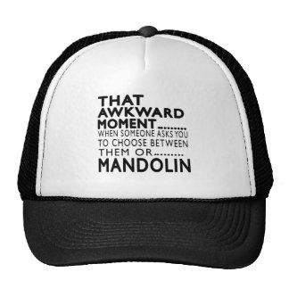 That Awkward Moment Mandolin Designs Trucker Hat