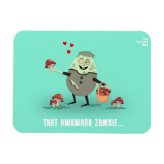 That Awkward Zombie Magnet