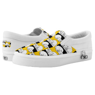 That Cat is sleeping. Slip-On Shoes