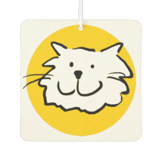 That Cat is Smiling Car Air Freshener