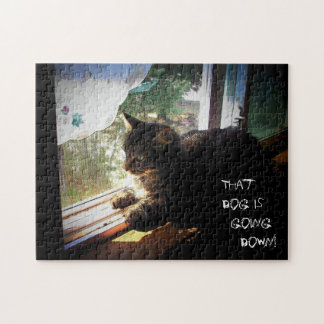 that dog is going down! Make your own Jigsaw Puzzle