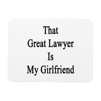 That Great Lawyer Is My Girlfriend Magnet