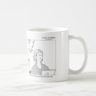 That post will get you kicked out of social media! basic white mug