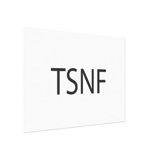 That s So Not Fair ai Stretched Canvas Print