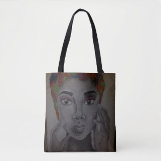 That Satin Wrap Tote Bag