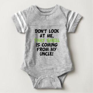 That Smell Is Coming From My Uncle Baby Bodysuit