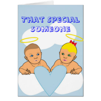 That Special Someone Greeting Card