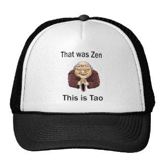 That Was Zen, This Is Tao Cap