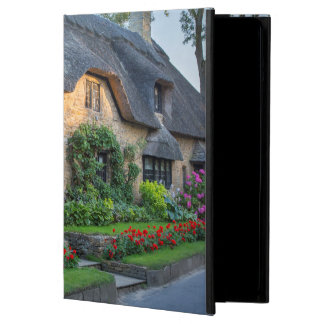 Thatch roof cottage in England iPad Air Cover