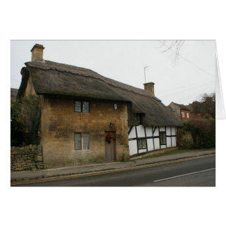 Thatched Cottage Card
