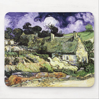 Thatched Cottages at Cordeville Mouse Pad
