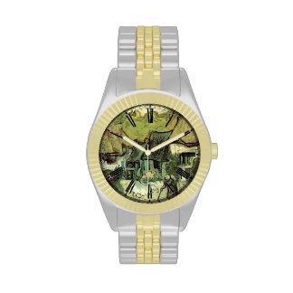 Thatched Cottages in Jorgus by Van Gogh Watch