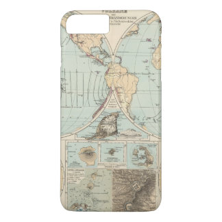 Thatigkeit des Erdinnern Atlas Map iPhone 7 Plus Case