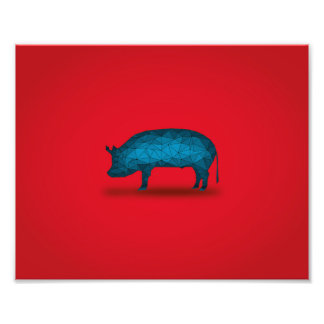 That'll do Pig... Photo Print